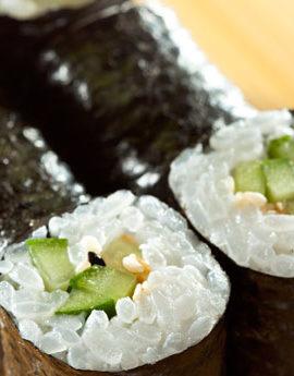 Sushi-vegan-Hosomaki